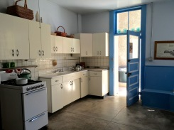 A later added kitchen, built in the 50's