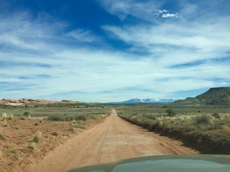 Moab campsite #1 Klondike Bluff Rd