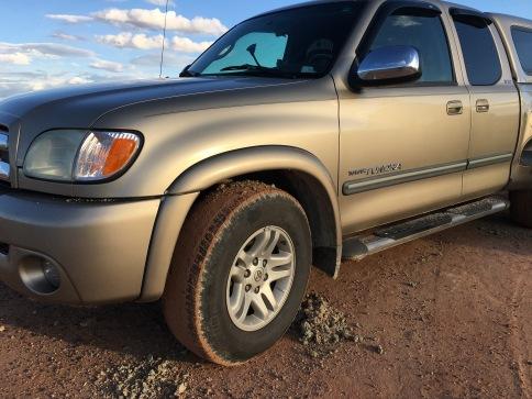 Truck mud