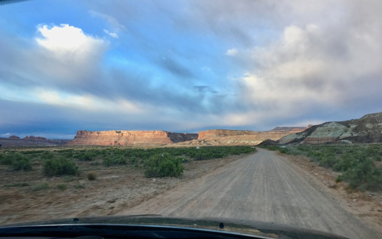 Moab Dirt Road