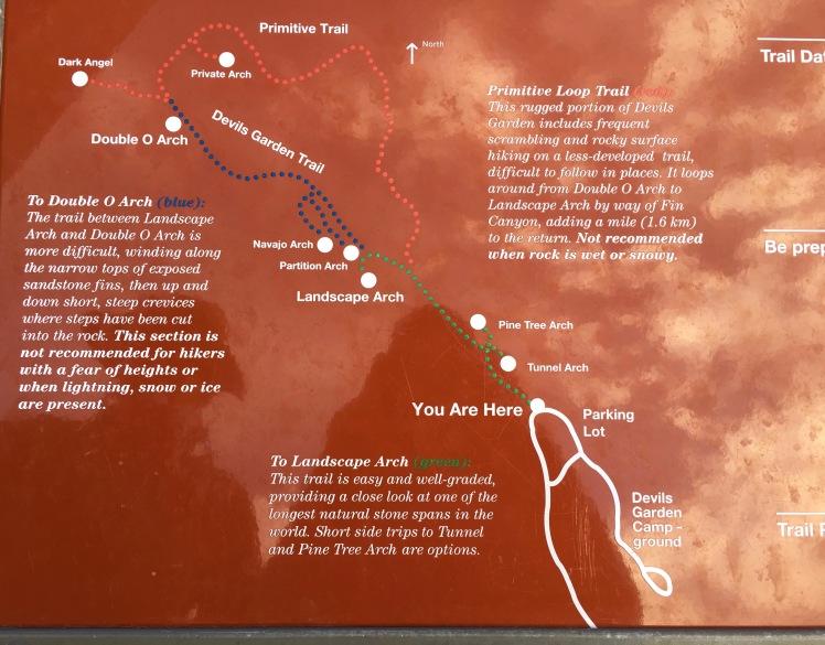 Devils Garden Trail Moab