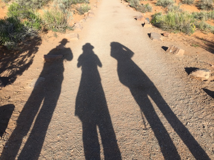 three stooges shadows