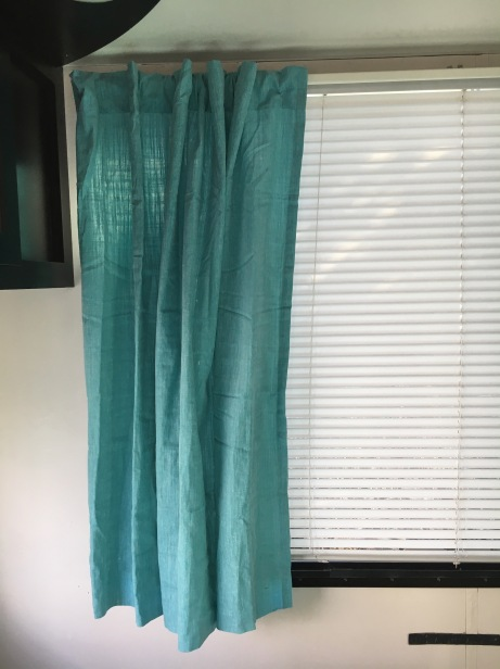 new curtain big window