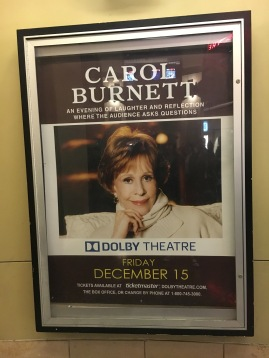 Carol Burnett poster