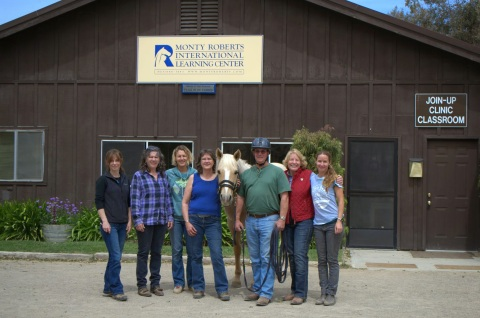 Monty Roberts Join Up clinic