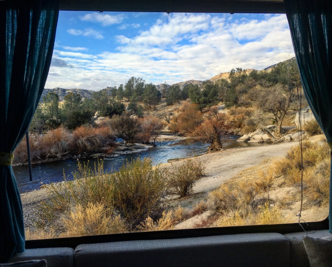 Lake Isabella RV Window View