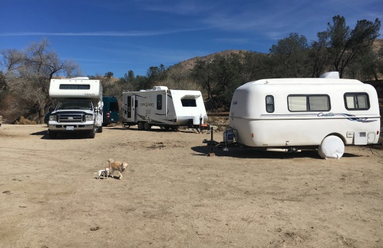 RV close parking boondocking