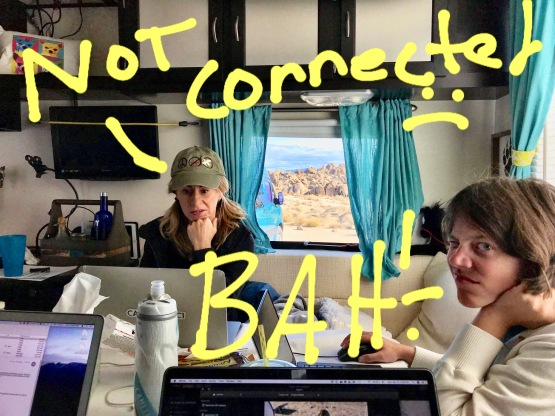 Bad boondocking internet